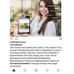 Contoh 2 - Posting Instagram Jatipadang.com Giveaway