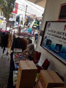 Booth Stand Penjual Pakaian dan Aksesoris di Ramadhan Expo 1439 H