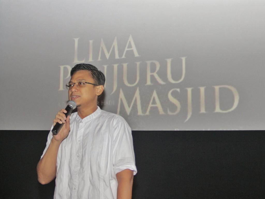 Sambutan dari Bapak Wira Perdana (Ketua Panitia Festival Ramadhan Masjid Al-Ikhlash Jatipadang 1439 H)