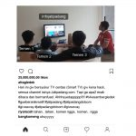 Contoh 3 - Posting Instagram Jatipadang.com Giveaway