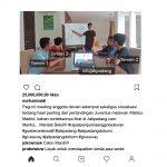 Contoh 4 - Posting Instagram Jatipadang.com Giveaway
