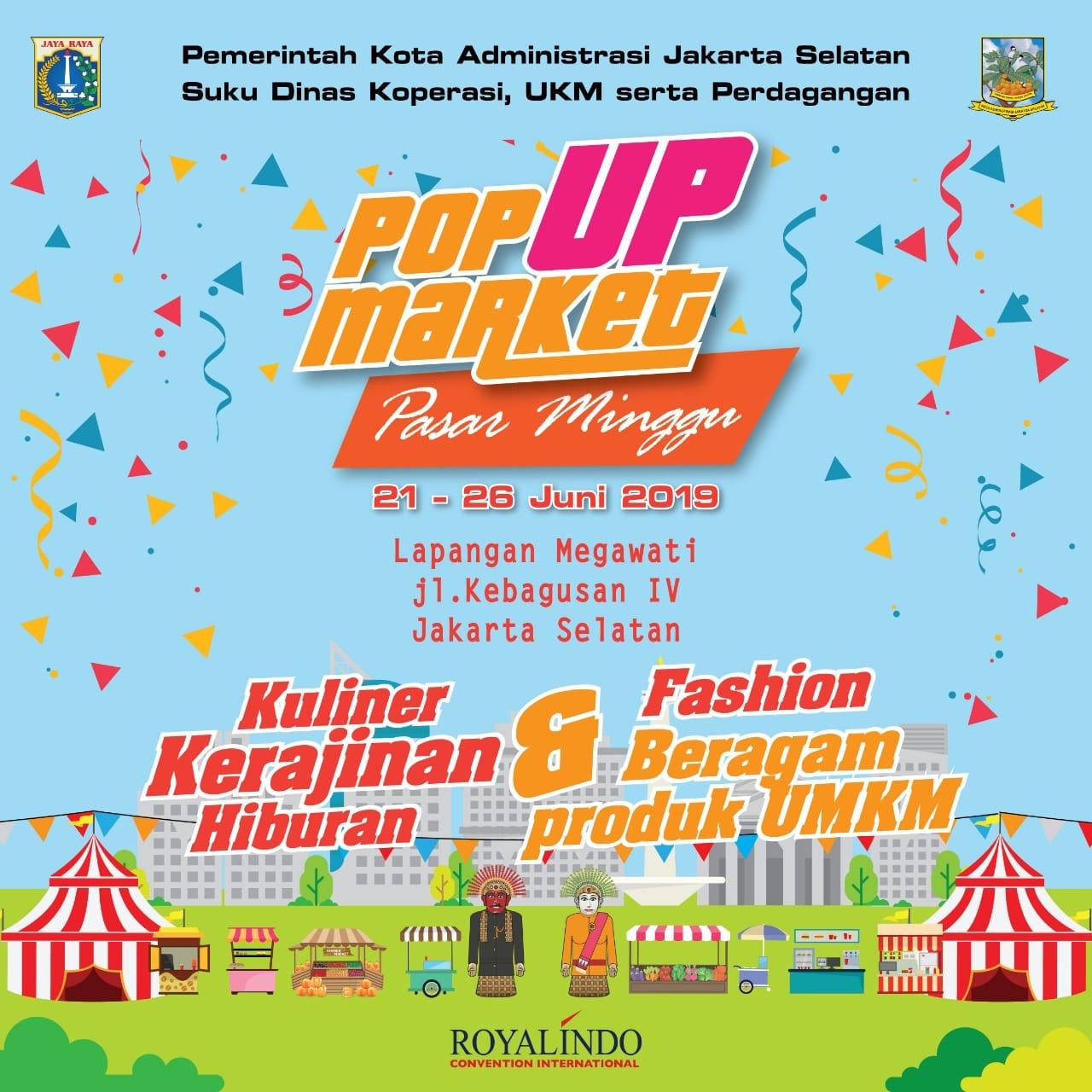 Yuk ke Bazaar Pop Up Market Kebagusan Pasar Minggu