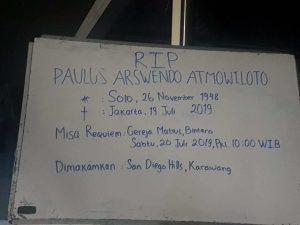 keluarga-cemara-Arswendo-atmowiloto-RIP