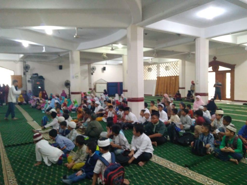 Pelaksanaan Madrasah Ramadhan Masjid Al-Ikhlash Jatipadang 1439 H