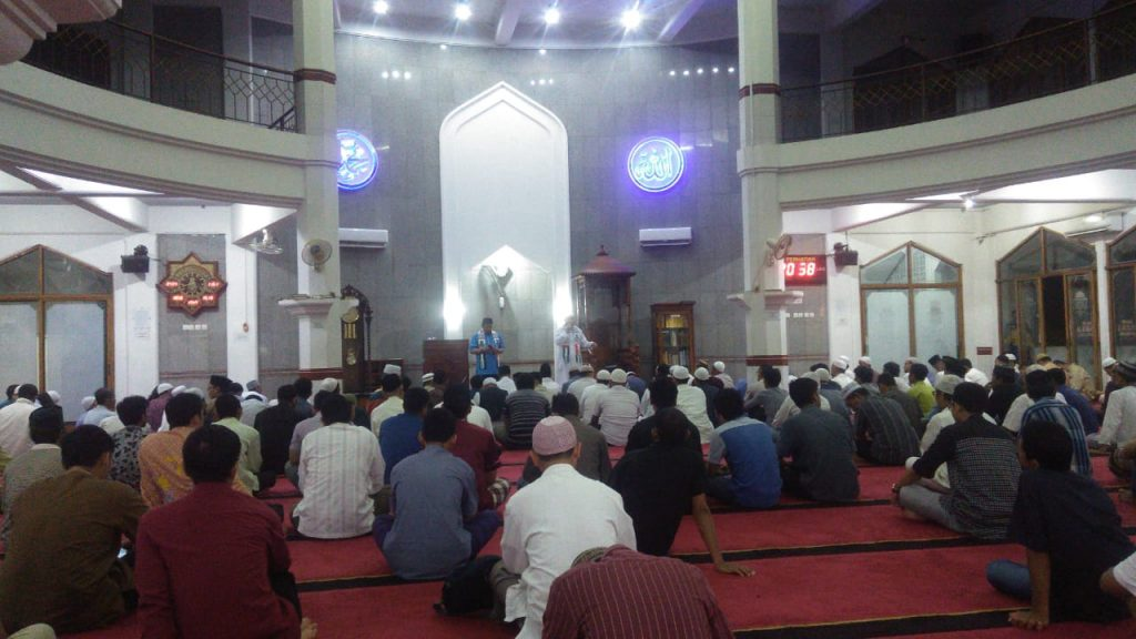 Pelaksanaan Shalat Tarawih Masjid Al-Ikhlash Bulan Ramadhan 1439 H